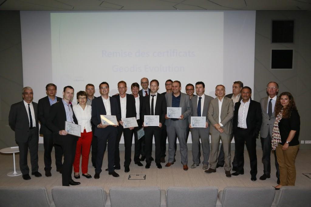 8ème promotion de Geodis Evolution, partenaire pédagogique principal de ISC Formation  Continue