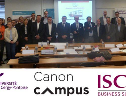 La formation continue de l'ISC Paris Partenaire du Canon Campus